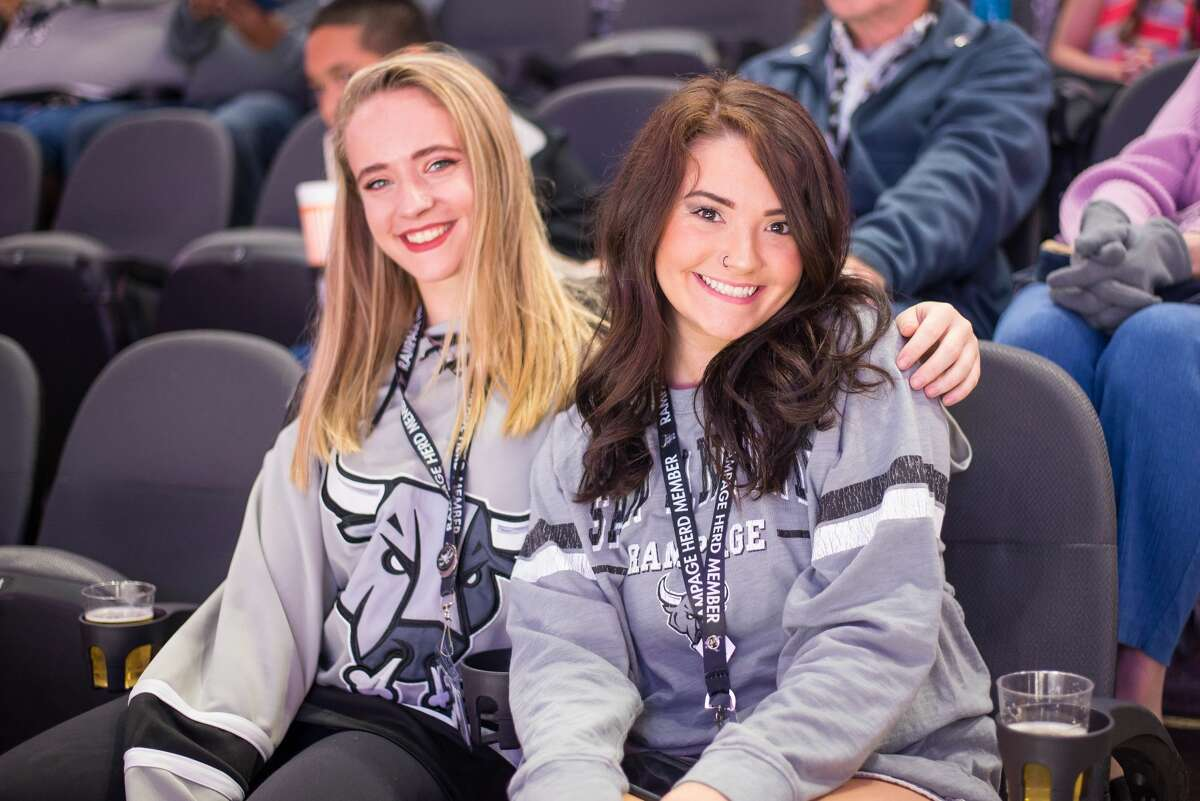 The following are photos from the Rampage's Dia de Los Muertos game last season. San Antonio cheered on the San Antonio Rampage as they played against San Jose Barracuda on Friday, Oct. 26, at the AT&T Center.