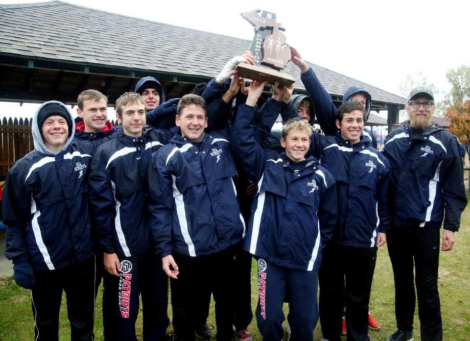 Division 4 Boys Cross Country Regional Photo: Paul P. Adams/Huron Daily Tribune