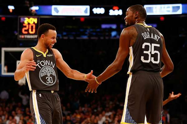 f39776c5013 Stephen Curry and Kevin Durant push dynamic partnership to new ...