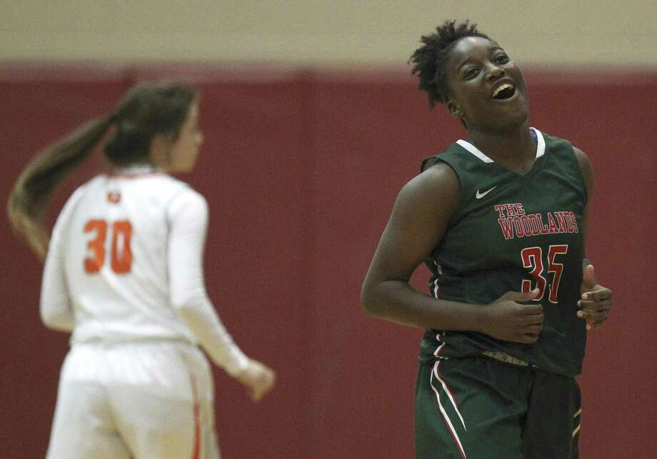 The Woodlands guard Miima Mpagi (35) is the top returning scorer from last season and will be one of two seniors in the starting lineup. Photo: Jason Fochtman, Staff Photographer / Houston Chronicle / © 2018 Houston Chronicle