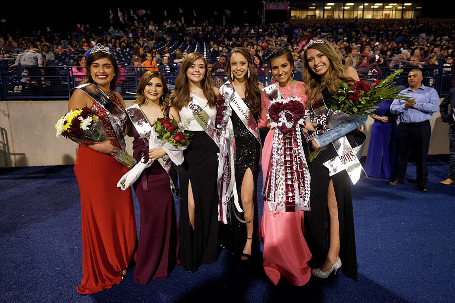 Lee homecoming court members Oct. 27, 2018, at Grande Communications Stadium. James Durbin/Reporter-Telegram Photo: James Durbin / © 2018 Midland Reporter-Telegram. All Rights Reserved.