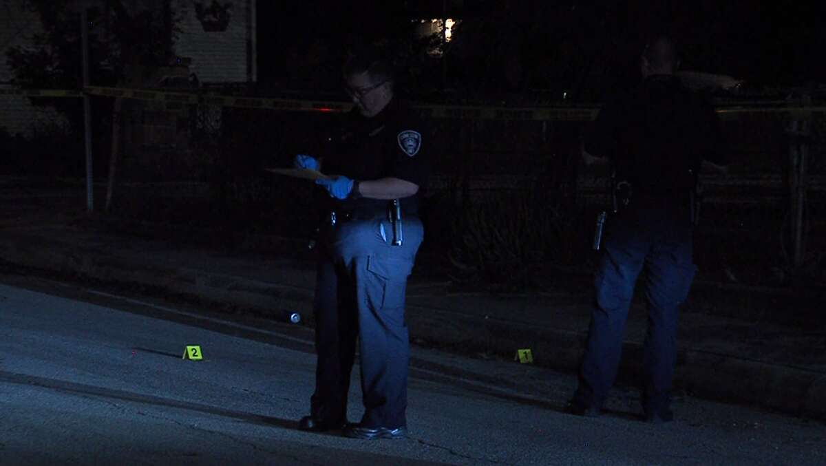 Two juveniles were shot at a Southwest Side party early Sunday in the 2200 block of South Trinity.