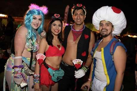 Freaky Deaky Festival at Sam Houston Race Park on Saturday, October 27, 2018
