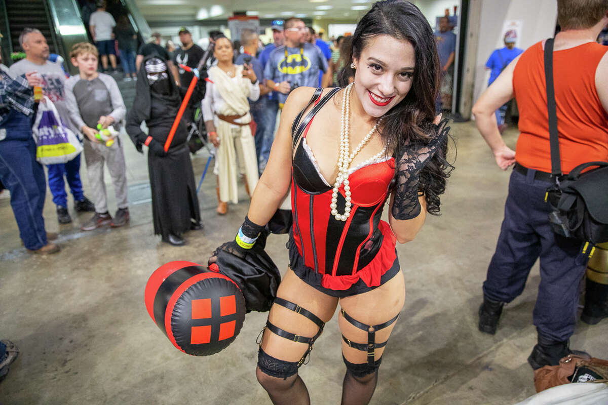 Photos: Characters come to life at last year's Alamo City Comic Con Popular anime and movie characters were brought to life on Saturday, Oct. 27, at the Alamodome.