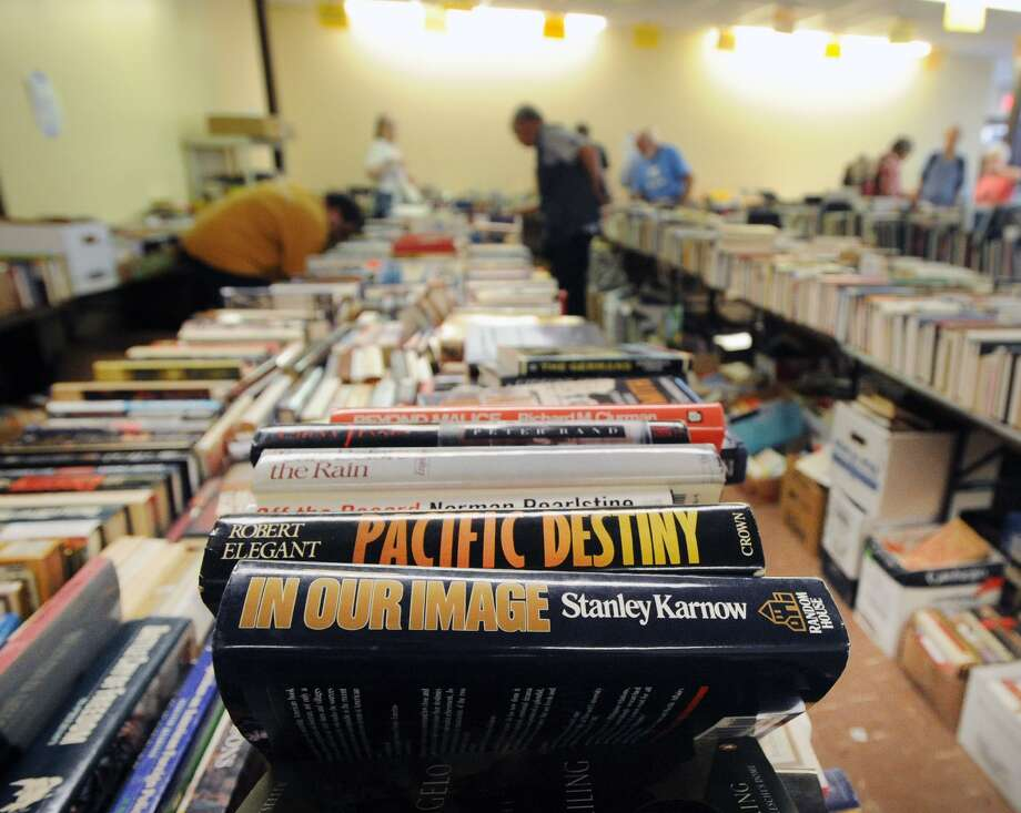 The Friends of the Byram Shubert Library will hold their huge semi-annual Book and Media Sale from Thursday, Nov. 1, through Sunday, Nov. 4, at St. Paul Lutheran Church, 55 William St. W., Byram. Thursday's preview from 5 to 8 p.m., with $20 entry fee, offers the first chance to shop. There is no entry fee on the following days: from 5 to 8 p.m. Friday, from 9 a.m. to 4 p.m. Saturday, and noon to 4 p.m. Sunday, with the bag and box sale when shoppers can fill bags or a box at significantly reduced prices. Photo: File / Greenwich Time