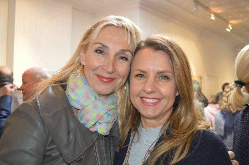 Southport Galleries in Southport held an opening reception for its exhibit,