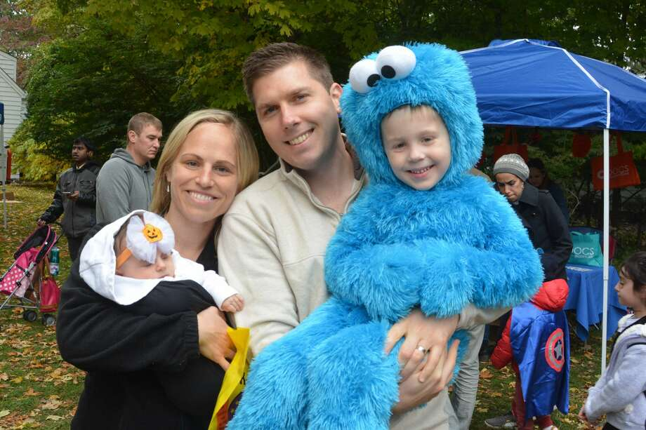 "The Fairfield Museum and History Center, in partnership with the Town of Fairfield, held its annual ""Halloween on the Green"" event on October 28, 2018 on the Museum Commons nearby the Historic Town Green.  Kids and families enjoyed trick-or-treating, giveaways, food trucks, a bounce house and other kid-friendly activities. Were you SEEN? Photo: Vic Eng / Hearst Connecticut Media Group"
