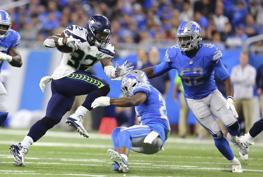 SEAHAWKS' RUN GAME WORE OUT LIONS' (POOR) RUSH DEFENSE 