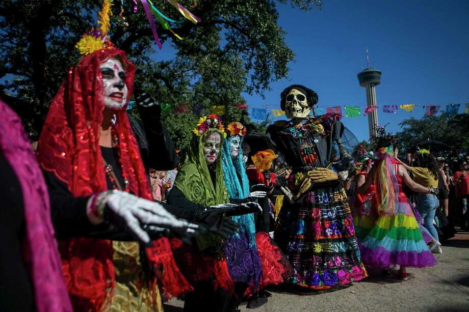 The list of San Antonio Día de los Muertos celebrations has grown in 2019  Annual events, like Muertos Fest and The Pearl's celebration, return. However, residents and guests have a new, three-day festival, Day of the Dead San Antonio, to celebrate the revered holiday Nov.1-3. Photo: Staff File Photo / © San Antonio Express-News
