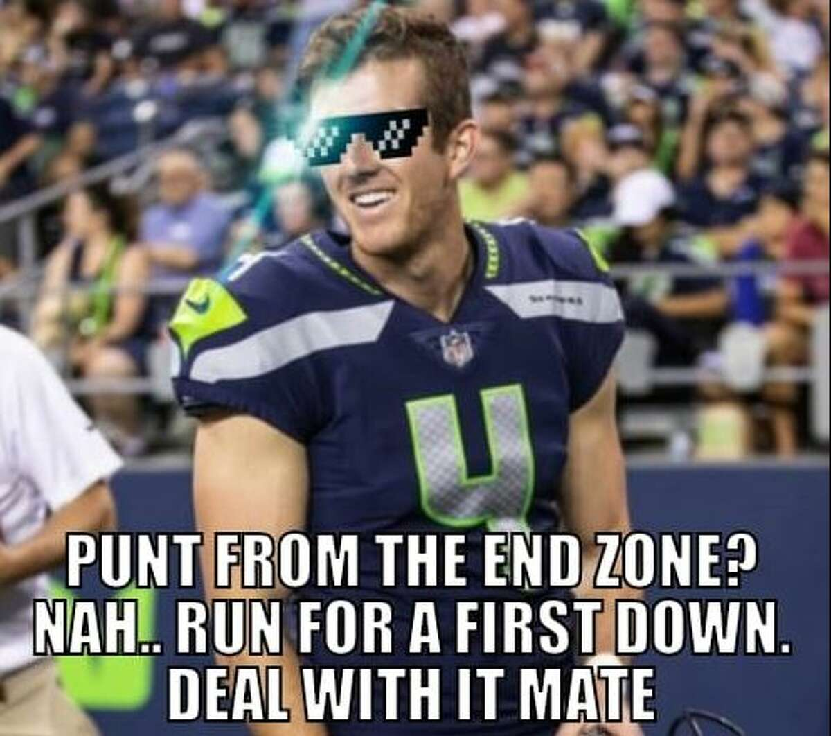Meme Celebrates Seahawks Fake Punt Play