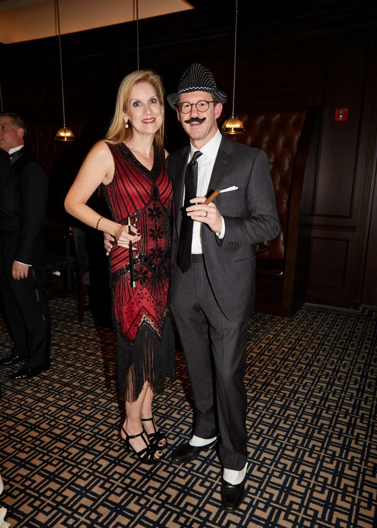The Greenwich United Way celebrated 85 years of impact on Saturday, October 13, with a Pearls and Prohibition-theme gala at Greenwich Country Club. More than 300 attendees enjoyed live music, live and silent auctions, a tribute to former Board Chairs and the organization's evolution. The event was Co-chaired by Sabrina Pray Forsythe, Karen Keegan and Nicole Kwasniewski. Honorary Co-chairs were Leslie & John Cooper. Sponsors included Greenwich Hospital, United Bank, Shreve, Crump & Low, Deutsch Family Wine & Spirits, Case Study Brands, Brown Advisory, Starr Films, Moffly Media - Greenwich Magazine, Serendipity and Sophia's Costumes and Rentals. Were you SEEN?