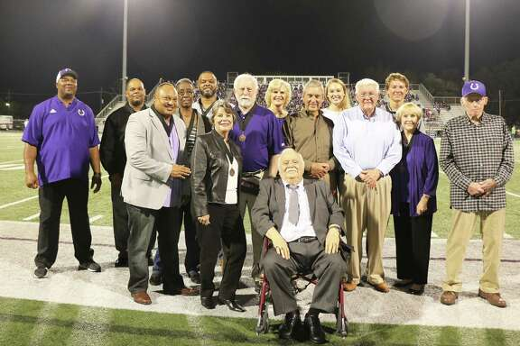 The 2018 class of Dayton ISD Sports Hall of Fame inductees were recognized prior to the kickoff between Dayton and Port Neches-Groves. They were inducted earlier at a ceremony in the Fine Arts building on the campus of Dayton High School.