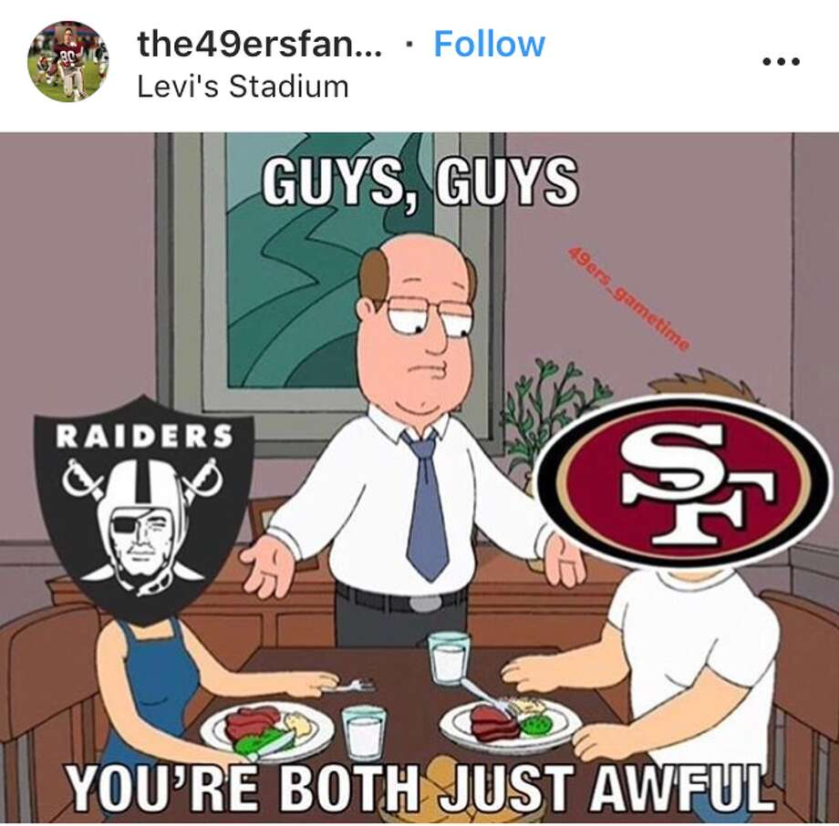 Memes Mock 49ers Raiders Ineptitude The Hour