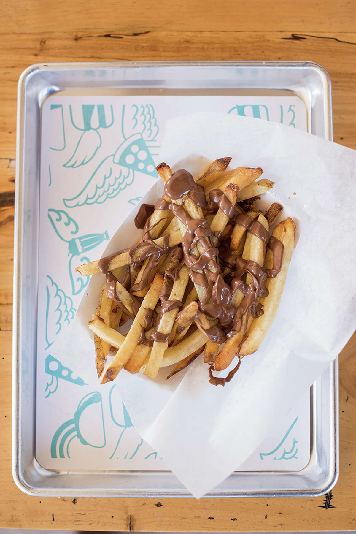 Nutella Fries: Sweet and salty meet perfection with Orderup's Nutella Fries. Fried in high-oleic oil, the best #treatyoself out there. (210) 824-9600Visit www.orderup-sa.com for full menu.