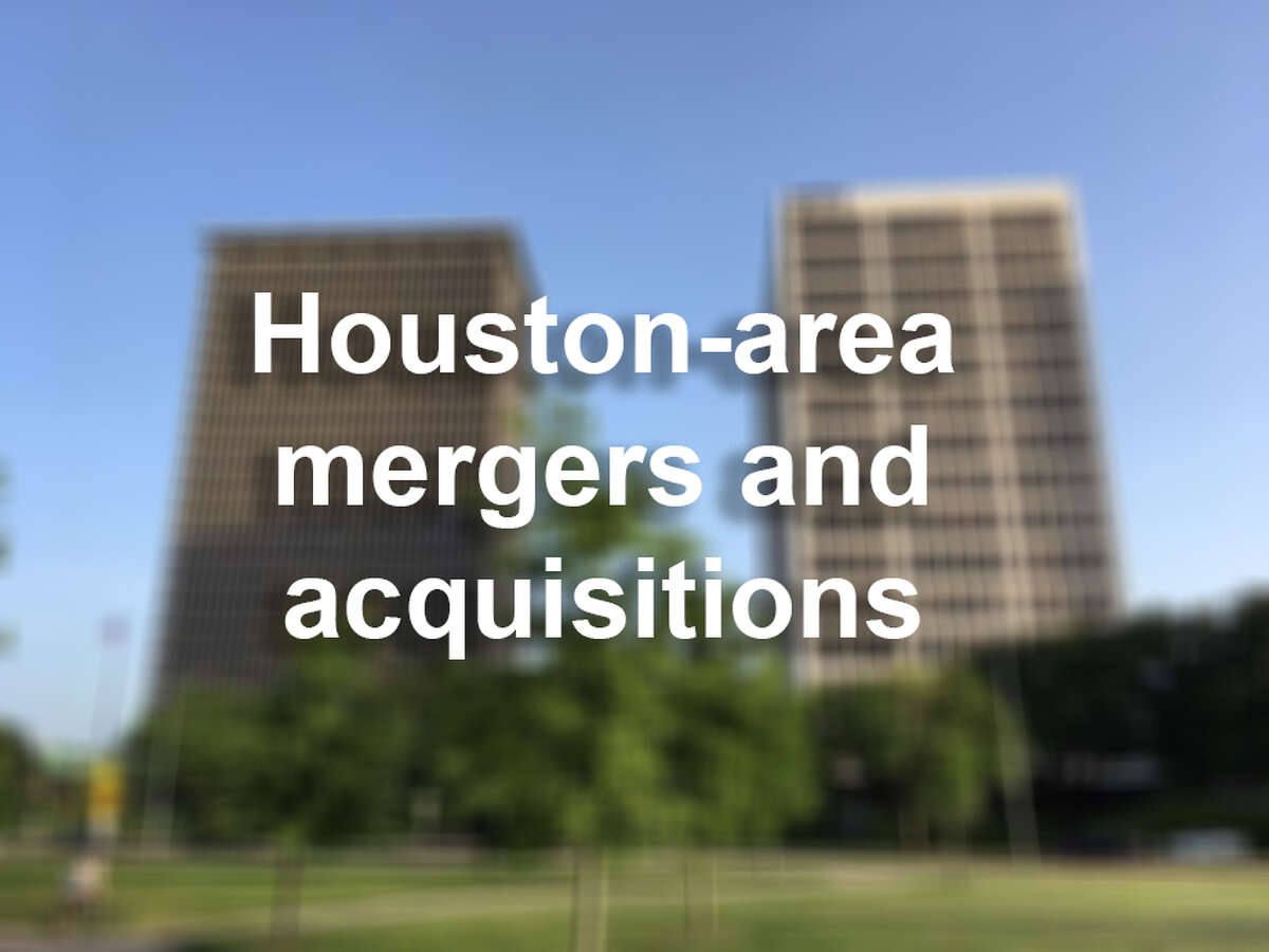 >> See the big mergers and purchases in the Houston-area.