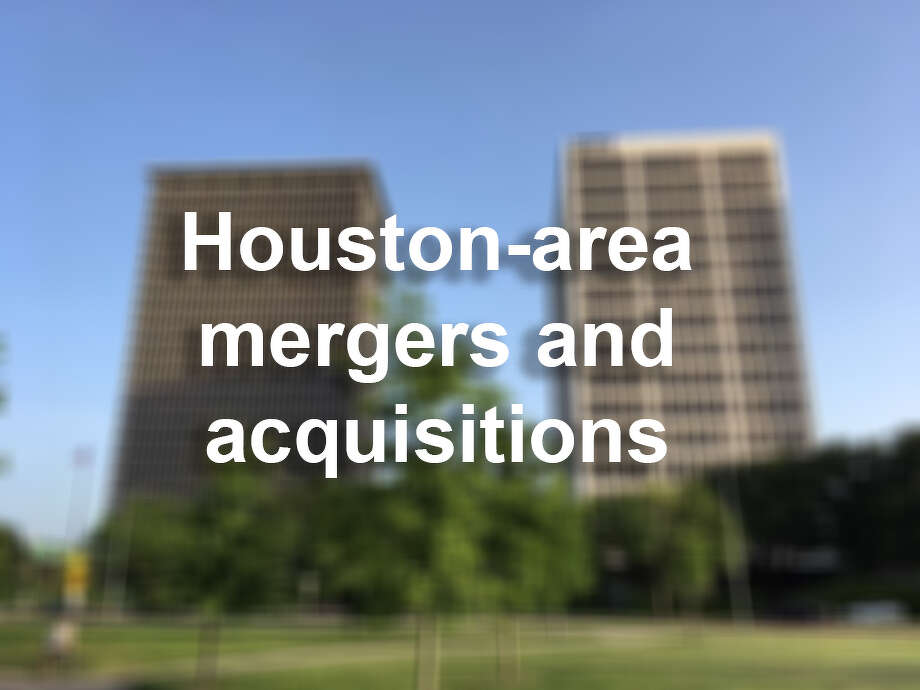 >> See the big mergers and purchases in the Houston-area. Photo: Houston Chronicle
