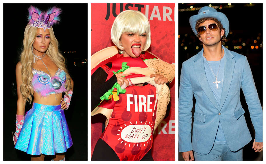 >>>See how celebs parties this Halloween weekend. Photo: Getty