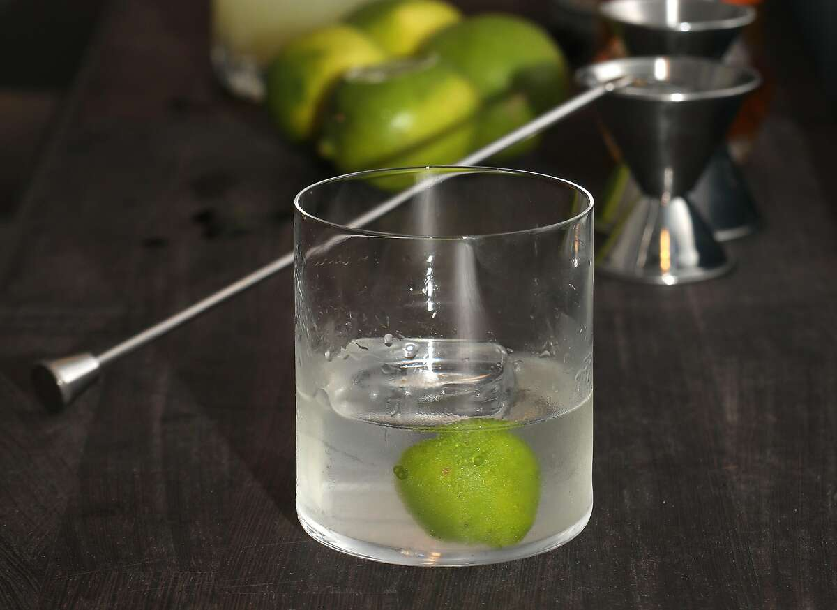 Bar owner Thad Vogler makes a Ti Punch at Obispo, a rum bar in the Mission, on Thursday, Oct. 25, 2018 in San Francisco, Calif.