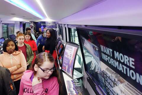 Get on the Bus: C-Span makes local whistle stops - Times Union