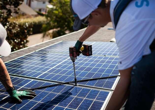 California solar jobs fall for second year
