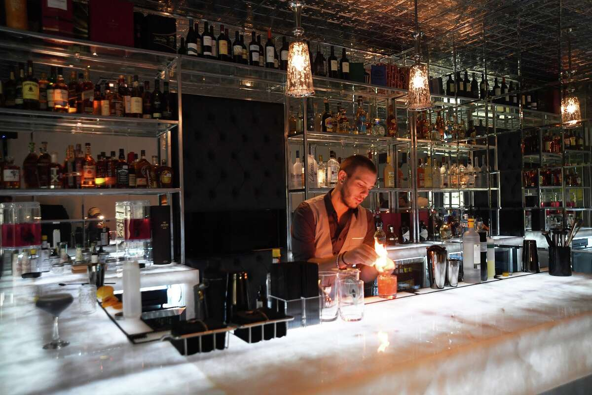 Ivy Bar & Bistro is a new rooftop bar and restaurant opening Nov. 2 at Fiori Spa, 2613 Potomac. Shown: Food and beverage manager Tat Drennen.