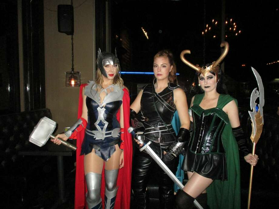 Houstonians came dressed in all kinds of creative costumes for the 2018 Halloween Montrose Pub Crawl Oct. 27, 2018. Photo: Courtesy Of Montrose Crawl, Inc.