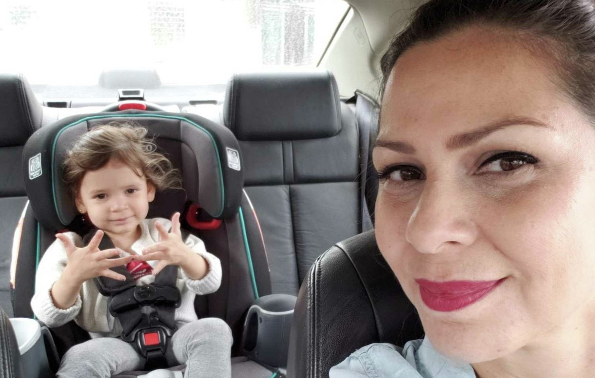 Janet Espejel, a U.S. citizen originally from Mexico, said she was threatened by a man in another vehicle while she was driving with her daughter in Houston.