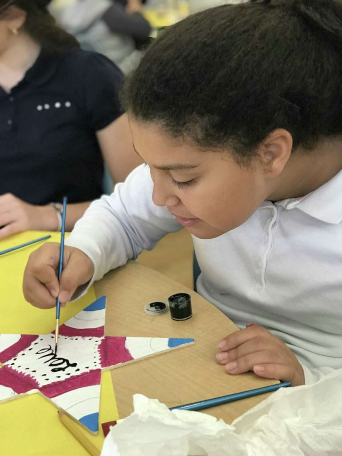 Students at the Bi-Cultural Hebrew Academy in Stamford, Conn. made Stars of Hope on Oct. 29, 2018 to send to Pittsburgh, PA where 11 people were killed in the midst of a service at a temple in what's considered to be the deadliest attack on people in the Jewish community in United States history.