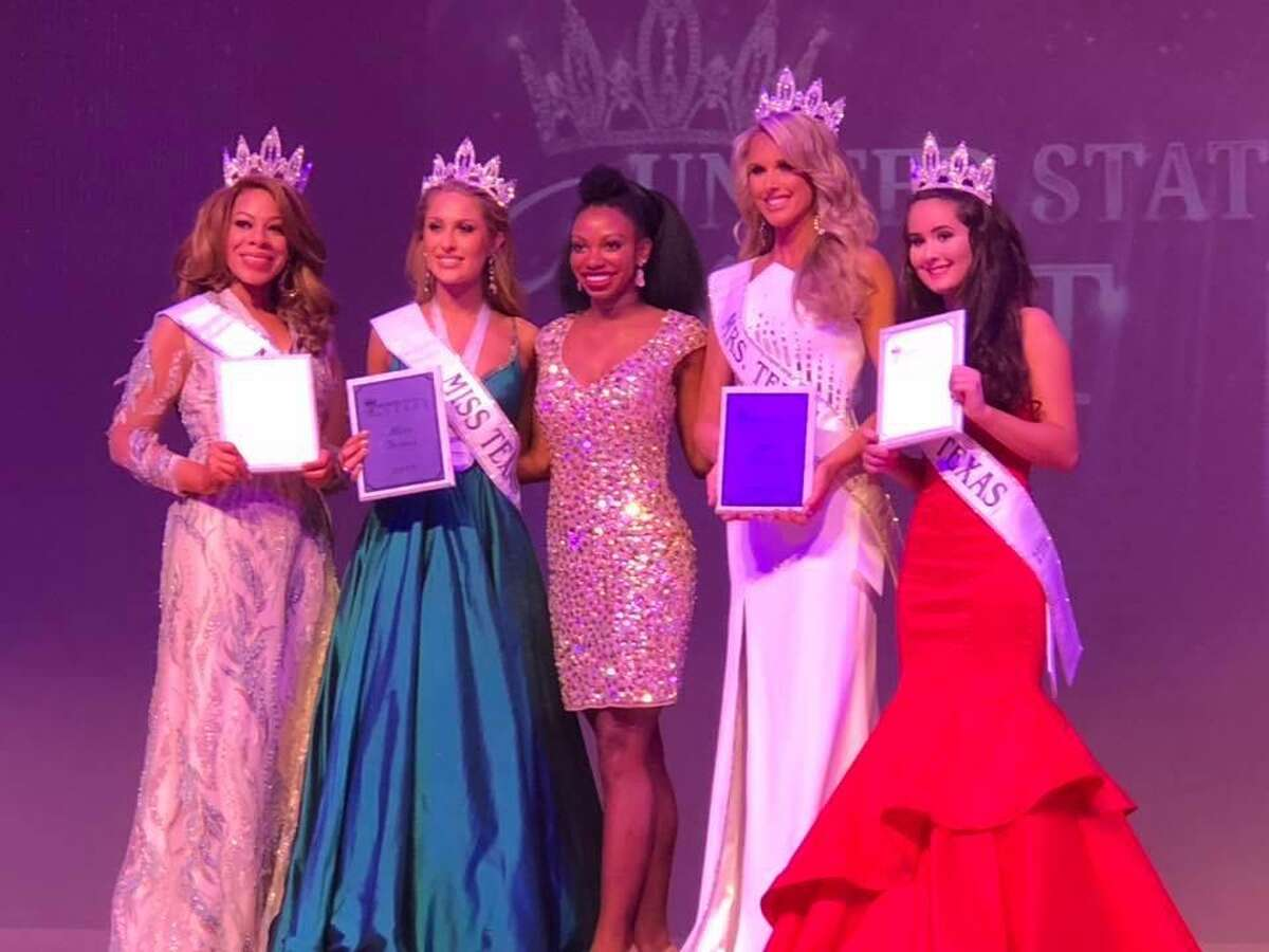 Katy ISD Police Officer Shannon Dresser was crowned the United States of America Mrs. Texas on Oct. 28, 2018.