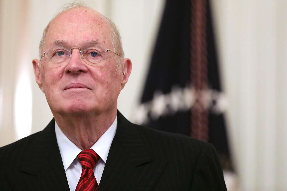 WASHINGTON, DC - OCTOBER 08: Retired U.S. Supreme Court Associate Justice Anthony Kennedy attends Associate Justice Brett Kavanaugh's ceremonial swearing in in the East Room of the White House October 08, 2018 in Washington, DC. Kavanaugh was confirmed in the Senate 50-48 after a contentious process that included several women accusing Kavanaugh of sexual assault. Kavanaugh has denied the allegations. (Photo by Chip Somodevilla/Getty Images)