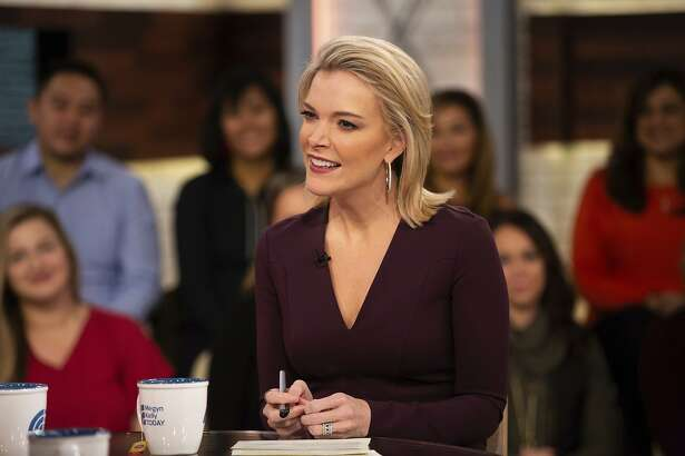"""This Oct. 22, 2018 photo released by NBC shows Megyn Kelly on the set of her show """"Megyn Kelly Today,"""" in New York. NBC announced on Friday, Oct. 26, that """"Megyn Kelly Today"""" will not return. (Nathan Congleton/NBC via AP)"""