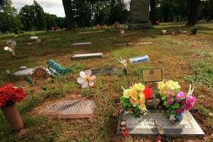 It is believed that some older graves and grave markers at Park Cemetery in Bridgeport were moved to make way for newer burials.