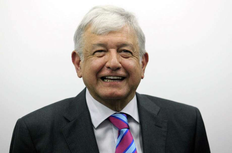 López Obrador Photo: ULISES RUIZ /AFP /Getty Images / AFP or licensors