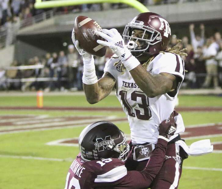 Kendrick Rogers and his fellow A&M receivers vow to do better after dropping too many passes last week against Mississippi State.