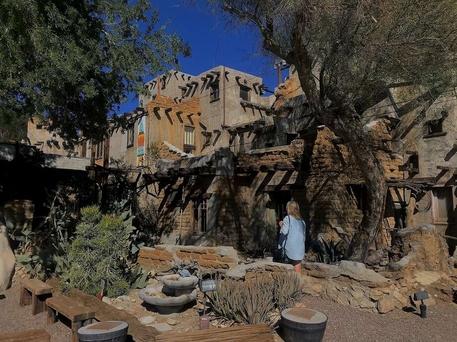 Cabot's Pueblo Museum is a folk art compound listed on the National Register of Historic Places. Photo: Matt Jaffe / Special To The Chronicle