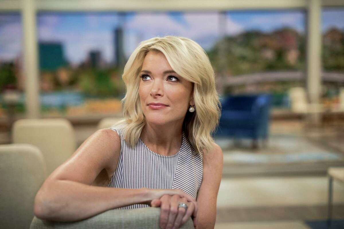 """FILE -- Megyn Kelly on the set of her new daytime show, ?""""Megyn Kelly Today,?"""" at Rockefeller Center in New York, Sept. 21, 2017. After her ?""""blackface?"""" remarks ?- and middling ratings ?- Kelly will not return to her 9 a.m. program on NBC, the network said on Friday, October 26, 2018. (Chad Batka/The New York Times)"""
