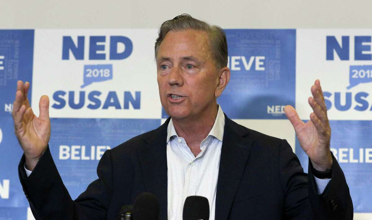 Democratic candidate Ned Lamont of Greenwich