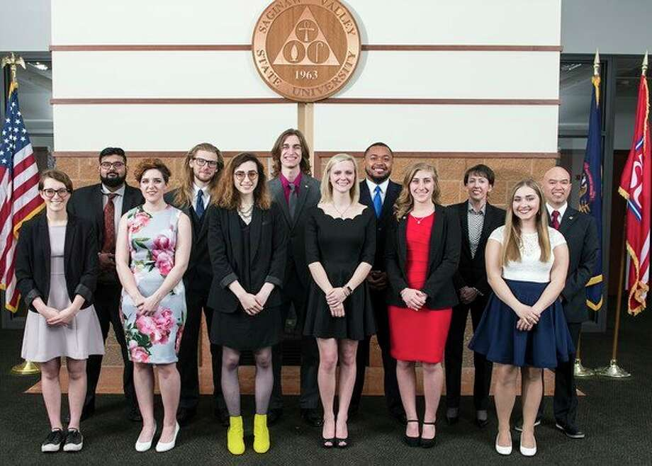 The latest class selected for the Roberts Fellowship at Saginaw Valley State University. (Photo provided/SVSU)