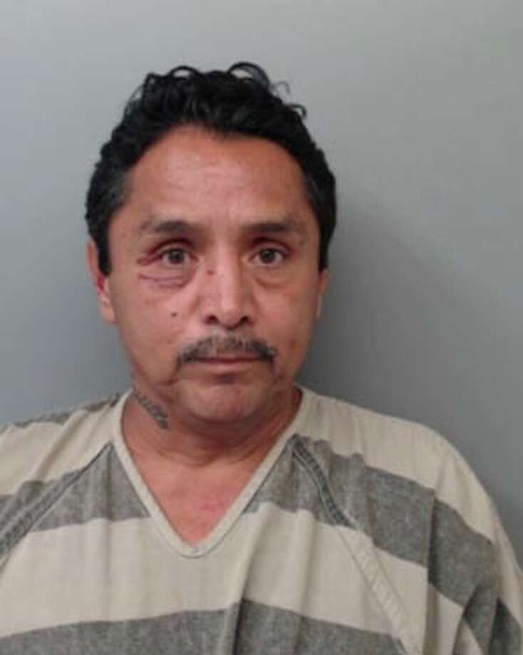 Reynaldo Castillo, 55, was charged with assault, burglary of habitation and theft of property. Photo: Webb County Sheriff's Office