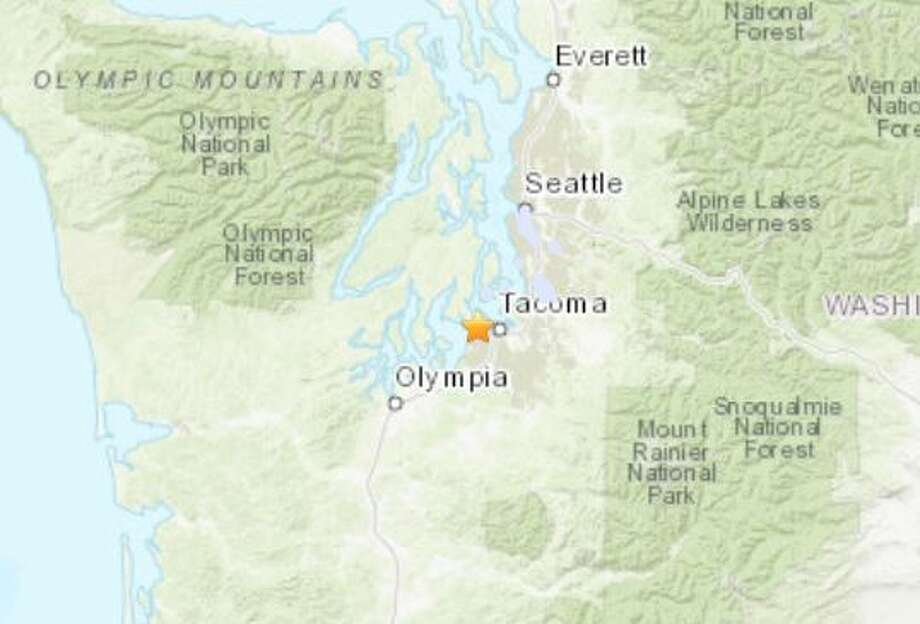 2 9 Magnitude Earthquake Reported Near Tacoma Seattlepi Com
