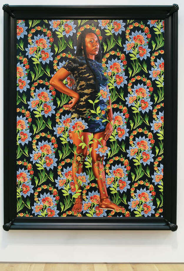 "Kehinde Wiley, American, born 1977; ""Charles I,"" 2018; Courtesy of the artist and Roberts Projects, Los Angeles, California © Kehinde Wiley Kehinde Wiley, American, born 1977; ""Jacob de Graeff,"" 2018; Courtesy of the artist and Roberts Projects, Los Angeles, California © Kehinde Wiley"