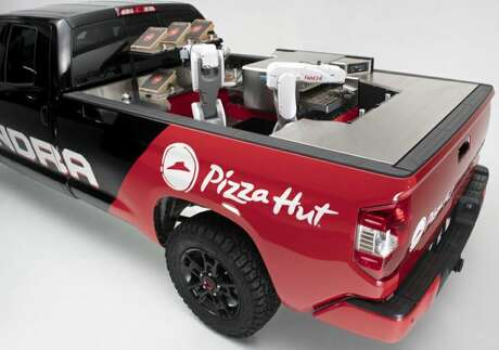 Toyota and Pizza Hut have teamed up for the Tundra PIE Pro.