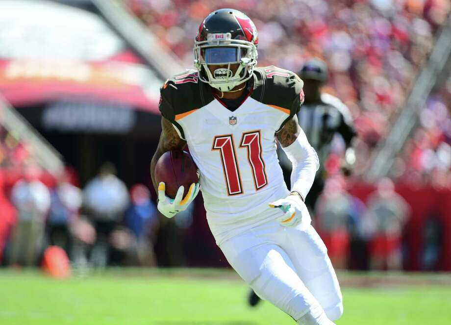 DeSean Jackson, WR, Buccaneers Jackson has requested a trade, but the Bucs staff is coaching for their jobs, so it seems they'd be unlikely to trade a valuable player for draft picks they may not even be around to use. Photo: Julio Aguilar, Getty Images / 2018 Getty Images