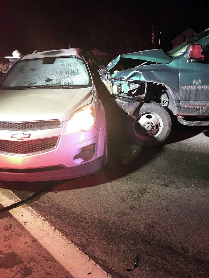 A Vassar woman was critically injured in a two-vehicle crash Tuesday morning. Photo: Courtesy Photo/Tuscola County Sheriff's Office