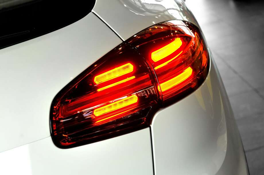 These lights, found on the front and back of most cars, can be used to indicate where you are going to fellow drivers. They are engaged by the turn signal lever next to the vehicle's steering wheel. Photo: Rasulovs/Getty Images/iStockphoto