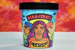 """Starting Tuesday, the flavor normally known as New York Super Fudge Chunk will be called """"Pecan Resist."""""""