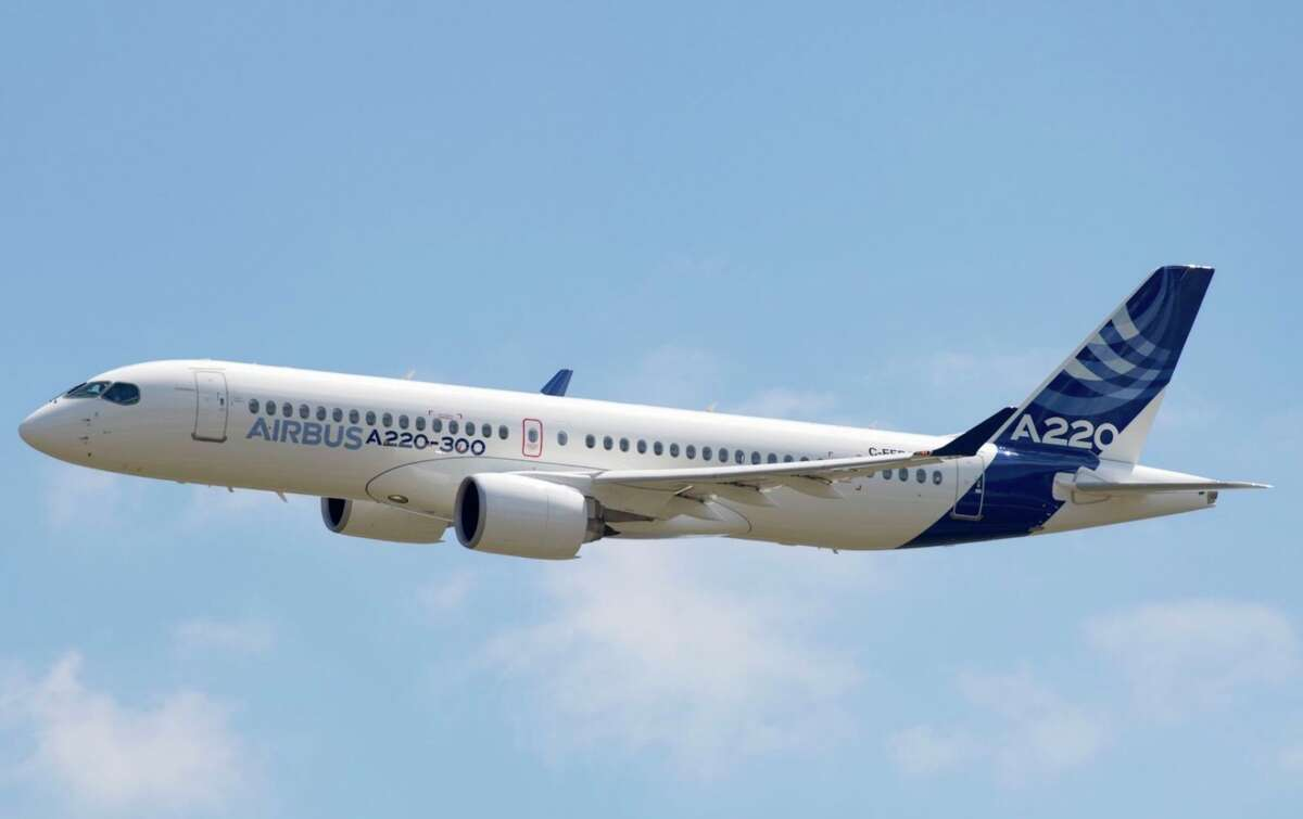 David Neeleman's new airline will rely on the single aisle Airbus A220-300.