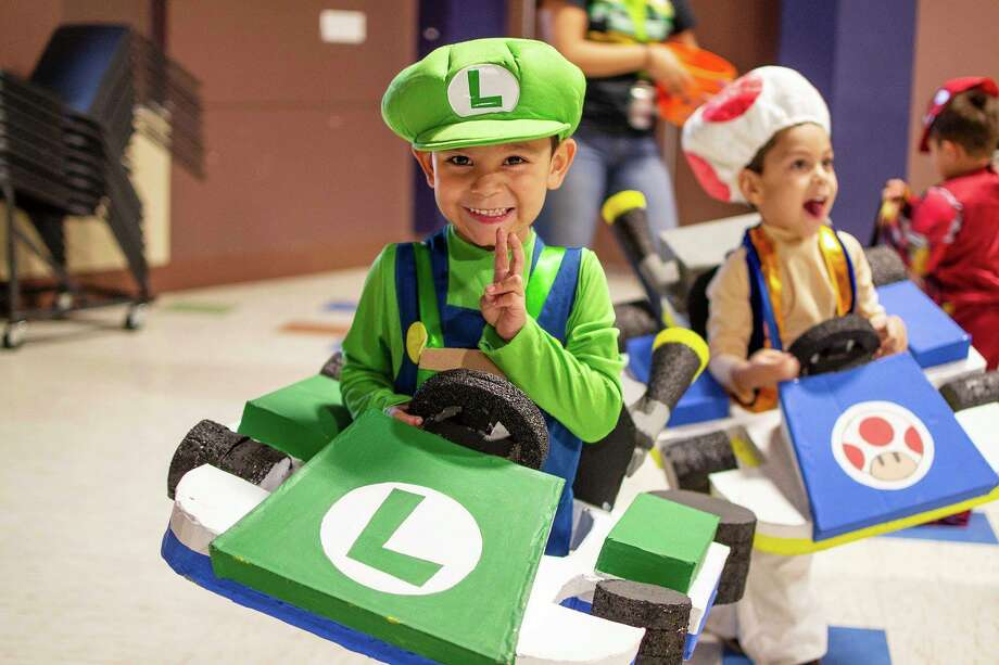 Midlanders dress up for Midland Parks & Recreation's Halloween Fest. Photo: City Of Midland