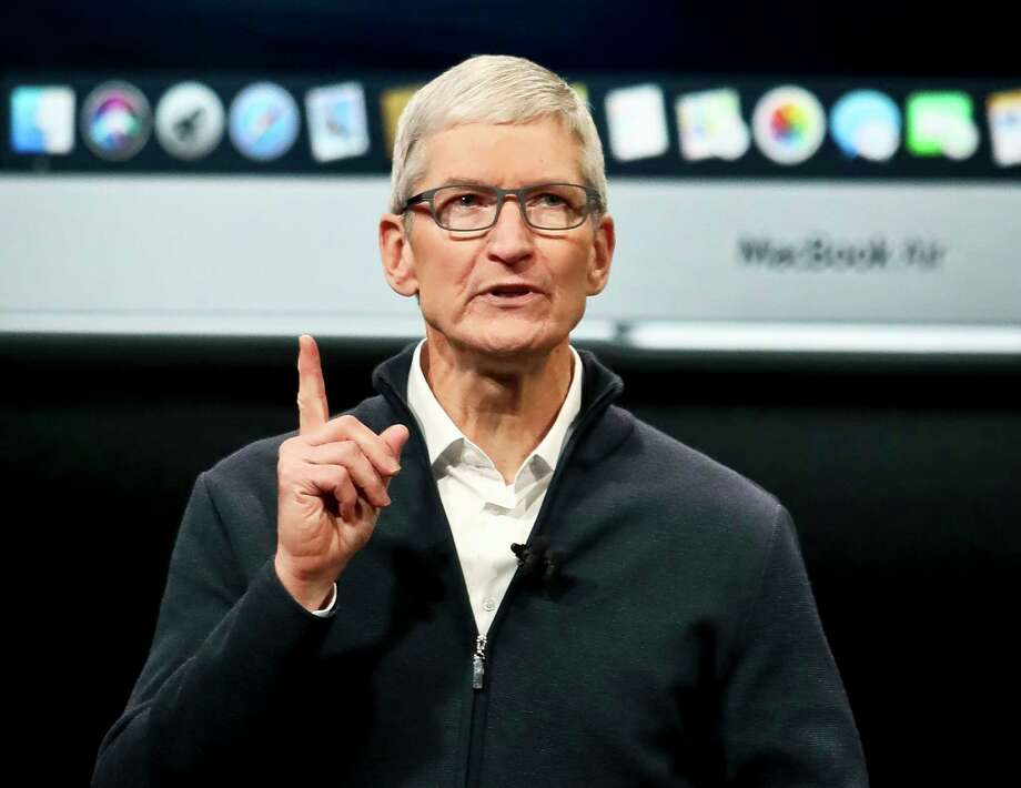 Apple CEO Tim Cook speaks during an event to announce new products Tuesday Oct. 30, 2018, in the Brooklyn borough of New York. Apple announced Friday that it would no longer report individual unit sales for the iPhone and its other flagship products, causing a stock selloff. Photo: Bebeto Matthews, AP / Copyright 2018 The Associated Press. All rights reserved.
