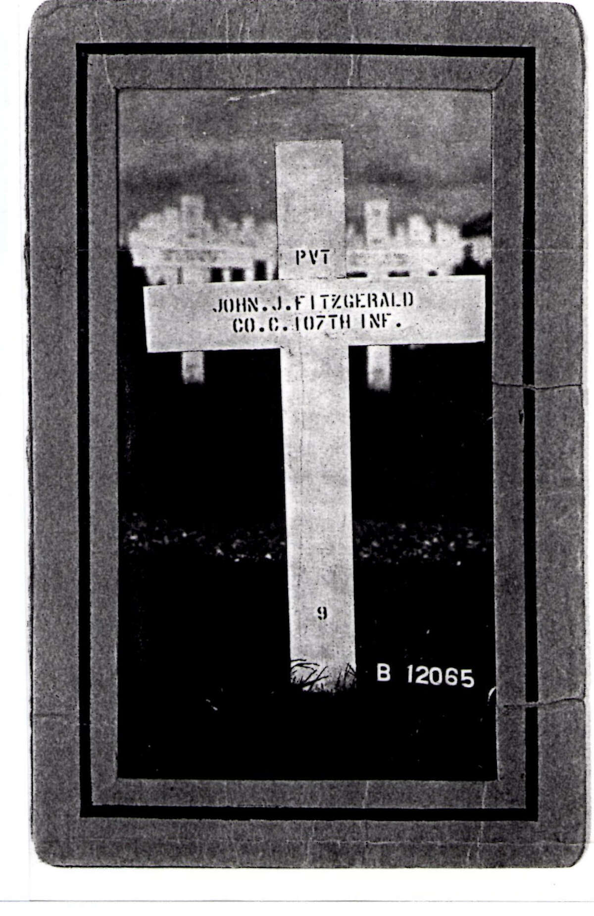 John (Jack) Fitzgerald was killed in France and buried in St. Agnes Cemetery.